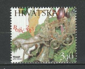 Croatia 2013 Christmas MNH stamp