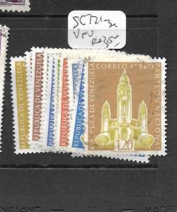 VENEZUELA (P1904B)  SC 721-734  VFU