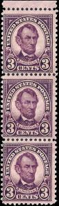635 Mint,OG,NH... Strip of 3... SCV $3.60