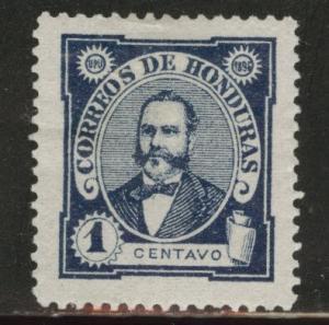 Honduras  Scott 95 MH* 1893 President Arias stamp
