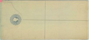 83784 - BERMUDA - Postal History - REGISTERED STATIONERY COVER  H  & Gage #  1