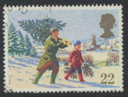 Great Britain SG 1527  Used  - Christmas