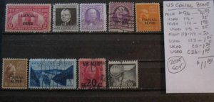 U.S. Canal Zone Selection- SCV=$11.00