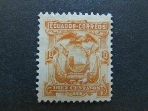 A4P46F50 Ecuador 1881 10c mh*