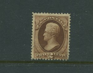 Scott 135A Jackson I-Grill Used Stamp    (Stock 135-A7)