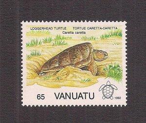 VANUATU SC# 578    FVF/MNH   1992