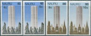 Nauru 1978 SG170-173 Surcharges set MNH