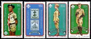 Bophuthatswana - 1982 Boy Scouts Set MNH** SG 84-87