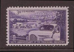 United States scott #1025 m/nh stock #19803