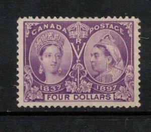 Canada #64 Extra Fine Mint Full Original Gum Lightly Hinged