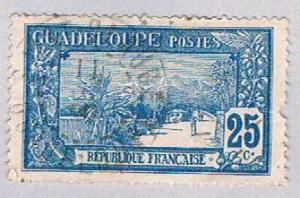 Guadeloupe 65 Used La Soufriere 1905 (BP30222)