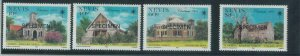 78434c  -  NEVIS  - STAMPS:  ARCHITECTURE  4 values MNH - Overprinted SPECIMEN