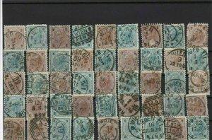 austria post mark cancels stamps ref r11008
