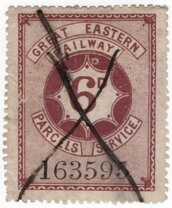 (I.B) Great Eastern Railway : Parcels Service 6d
