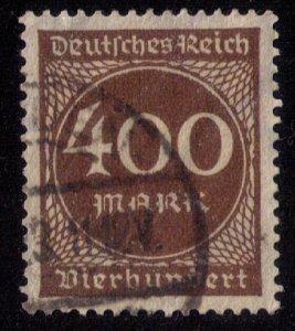 Germany Sc 232 Used 400 M F-VF