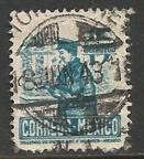 MEXICO 825 VFU POSTMAN Z1162-7