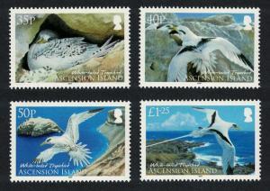Ascension WWF White-tailed Tropicbird 4v SG#1060-1063