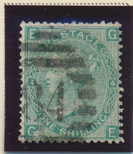 Great Britain Stamp Scott #42, Used - Free U.S. Shipping, Free Worldwide Ship...