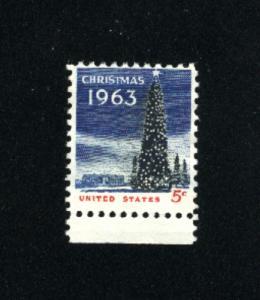 USA #1240  3 used 1963 PD .08