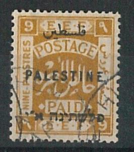 60951b -  PALESTINE - STAMPS:  SG #  82b / YVT # 60A   Used - VERY FINE!!