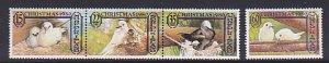 Norfolk Islands MNH 273-6 Christmas Birds 1980