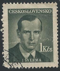 Czechoslovakia #376 1k J Sverma