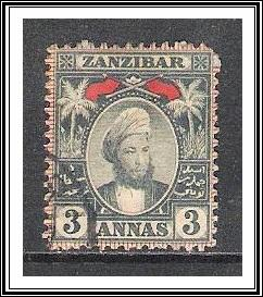Zanzibar #42 Sultan Hamed-bin-Thwain Used