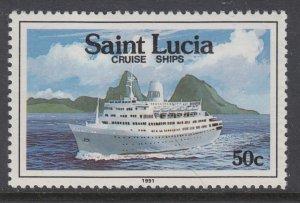 St Lucia 976 Ship MNH VF