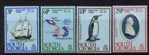 South Georgia Scott 52-55 MNH!