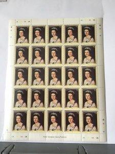 Barbuda Queen Elizabeth 11 full mint never hinged  stamps sheet ref R23562