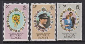 Pitcairn Islands Sc#206-208 MH