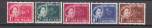 J26707 1953 south west africa set mh #244-8 queen