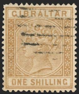 Gibraltar Scott 8-21 Gibbons 8-45 Used Set of Stamps