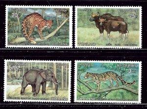 Thailand 723-26 MNH 1975 Protected Animals    (ap3046)
