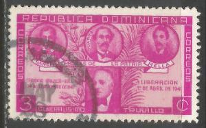 DOMINICAN REPUBLIC 369 VFU N901-4