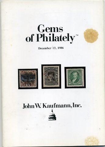 Kaufmann's Gems of Philately