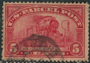 Q5  5c Parcel Post Used