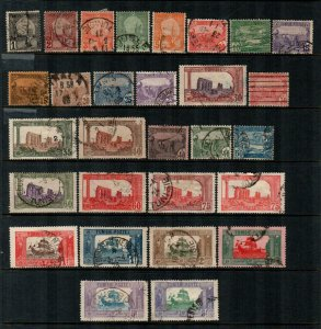 Tunisia #29-57  Used  Scott $22.00