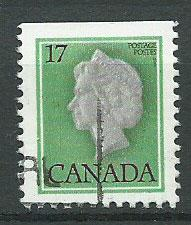 Canada SG 869 FU from booklet