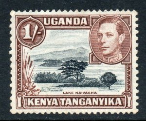 KUT 1938 KGVI 1/- perf 13x11¾ SG 145a mint CV £23