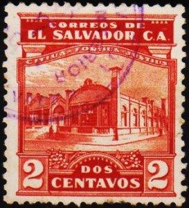 El Salvador. 1924 2c S.G.751 Fine Used