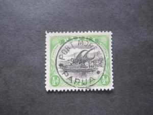 Papua New Guinea 1901 Sc 41 FU