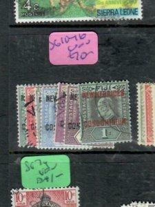 NEW HEBRIDES (PP2612B)  KE SG 10-6  VFU ANTIQUE OVER 100 YEARS OLD