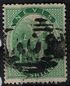 Nevis 1867 SC 11 Used SCV $125.00