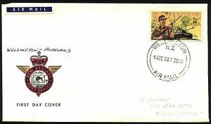 NEW ZEALAND 1968 first flight cover Wellington to Auckland.................97039