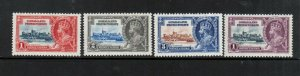 Somaliland Protectorate #77 - #80 Very Fine Never Hinged Set