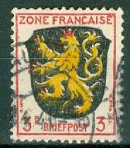 Germany - Allied Occupation - French Zone - Scott 4N2
