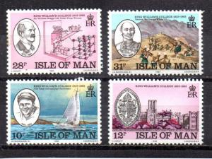 Isle of Man 246-249 MNH