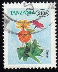 Tanzania #1569 Zinnia, used. PM