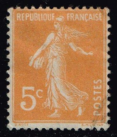 France #160 Sower; Used (0.30)